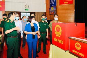 Phó Bí thư Thường trực Thành ủy Nguyễn Thị Tuyến: Quận Ba Đình cần đảm bảo an toàn tuyệt đối cho ngày hội của toàn dân