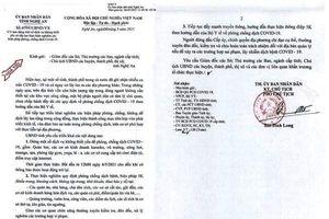 Nghệ An: Dừng các hoạt động dịch vụ không thiết yếu để phòng dịch Covid-19