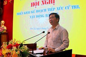 Thị xã Sơn Tây gặp mặt các ứng viên đại biểu Quốc hội và HĐND các cấp