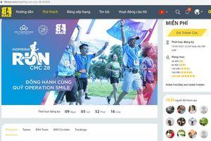 Giải chạy 'Inspiring Run CMC 28' gây quỹ ủng hộ Quỹ Phẫu thuật nụ cười