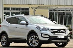 Hyundai triệu hồi hơn 390.000 xe Santa Fe vì sự cố có thể gây cháy