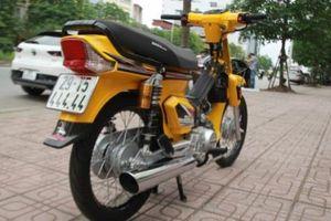 Cận cảnh xe máy Honda Dream 1997, biển độc, màu độc nhất Hà Thành