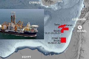 Biên giới biển Lebanon-Israel: Mỏ dầu-khí và dấu vân tay Mỹ