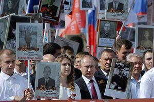 Nước Nga hướng về Ngày Chiến thắng 9-5