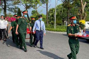 Quảng Trị: An táng 24 hài cốt liệt sĩ hy sinh tại Lào