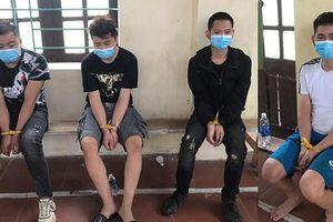 Tóm gọn 4 người Trung Quốc nhập cảnh trái phép đang lẩn trốn