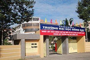 Trường Đại học Đồng Nai thu hồi 63 tỷ đồng do sai phạm