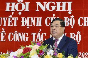 Phó Trưởng ban Nội chính Trung ương làm Bí thư Tỉnh ủy Nam Định