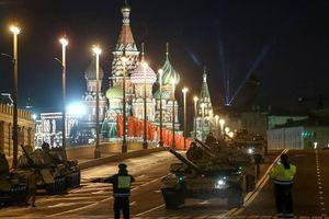 Nga diễn tập duyệt binh Ngày Chiến thắng trên Quảng trường Đỏ