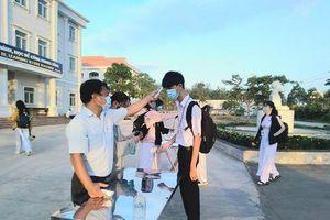 Tây Ninh: Bảo đảm an toàn phòng dịch cho các kỳ thi