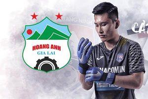 Thủ môn HAGL thận trọng trước trận gặp đội bóng cũ Quảng Ninh