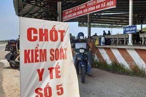 Thừa Thiên Huế: Thành lập trạm giám sát dịch Covid-19 tại thị trấn Lăng Cô