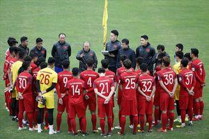 HLV Park Hang-seo chính thức công bố danh sách đội tuyển Việt Nam