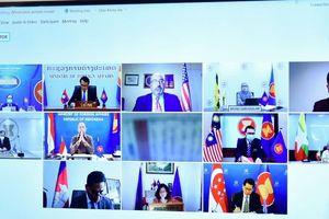 Các nước ASEAN và Mỹ trao đổi về vấn đề Biển Đông và tình hình Myanmar