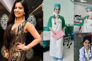 Sao nữ Ấn Độ xin làm y tá tuyến đầu, không may mắc COVID-19 bị liệt nửa người