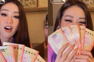 Sang Mỹ thi Miss Universe, Khánh Vân mua vé số mong trúng 360 triệu USD để... đổi đời