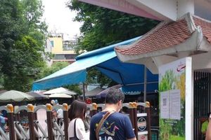 Công viên Hà Nội đồng loạt đóng cửa