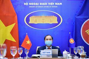 Việt Nam mong muốn Mỹ ủng hộ ASEAN xây dựng Biển Đông hòa bình, hợp tác
