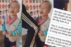 Mẹ ở Hà Nội 'tố' cô giáo có hành vi phản cảm khi con mới đi học 15 phút