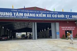Khai trương Trung tâm đăng kiểm 37-09D tại TP. Vinh