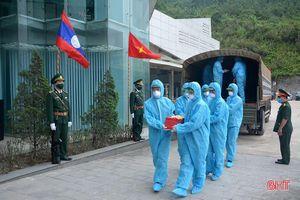 Hà Tĩnh tổ chức đón nhận hài cốt liệt sỹ quân tình nguyện và chuyên gia Việt Nam hy sinh tại Lào về nước