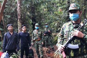 Bộ đội biên phòng Quảng Nam siết chặt chống dịch nơi vùng biên