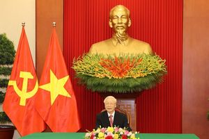 Tổng Bí thư Nguyễn Phú Trọng điện đàm với Bí thư thứ nhất ĐCS Cuba
