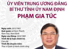 Ủy viên TW Đảng, Bí thư Tỉnh ủy Nam Định Phạm Gia Túc