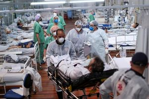 Tỉ lệ tử vong vì COVID-19 tăng gấp đôi ở người trẻ tuổi Brazil