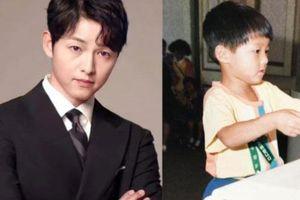 Bức ảnh hiếm hoi ngày bé chưa từng được công bố của Song Joong Ki, nhìn thấy mà 'cưng xỉu'