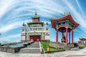 Những ngôi đền Phật giáo đẹp đến ngỡ ngàng ở Nga