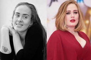 Adele gây sốc với ảnh zoom gương mặt nhăn nheo chảy xệ, mắt đầy nếp nhăn do giảm cân đột ngột khiến fan xót xa