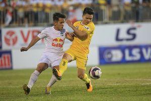 Vì sao Hà Nội FC mong HAGL của bầu Đức thắng Quảng Ninh?