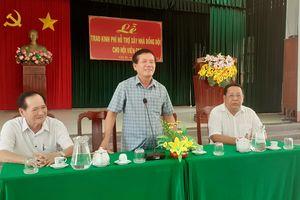 Trà Vinh hỗ trợ kinh phí xây cất 39 nhà đồng đội cho cựu chiến binh nghèo