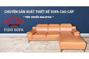 Sống và làm việc đẳng cấp với sản phẩm từ thương hiệu FIDO SOFA