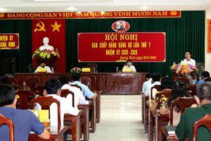 Quảng Ninh: Cho ý kiến về chương trình hành động thực hiện Nghị quyết Ban chấp hành Đảng bộ huyện