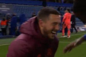 Hazard cười đùa sau thất bại của Real
