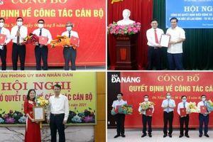 Đà Nẵng, Thái Nguyên, Đắk Lắk bổ nhiệm nhân sự lãnh đạo mới