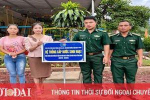 Quảng Trị: Bộ đội Biên phòng khánh thành công trình nước sạch cho trường mầm non