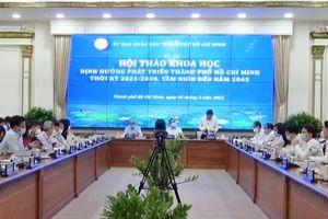 Bộ Xây dựng đóng góp ý kiến định hướng phát triển đô thị Thành phố Hồ Chí Minh