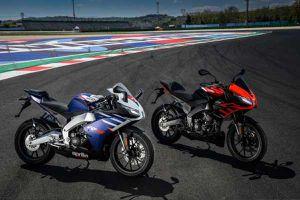 Aprilia tung bản nâng cấp cho RS 125 và Tuono 125, giá từ 144 triệu đồng