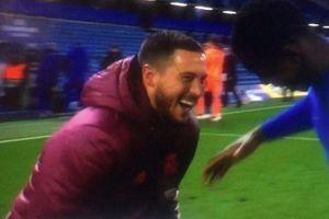 Hazard tươi cười rạng rỡ dù Real Madrid thua đau Chelsea