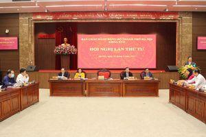 Ban hành Nghị quyết Hội nghị lần thứ tư Ban Chấp hành Đảng bộ thành phố Hà Nội khóa XVII