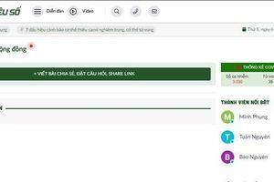 Mạng xã hội VNBrands.vn bị tước quyền sử dụng giấy phép hoạt động 8 tháng, phạt 105 triệu đồng