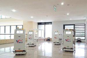Làm chủ công nghệ chế tạo Hệ thống robot y tế vận chuyển