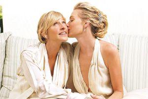 MC Ellen DeGeneres phủ nhận hôn nhân rạn nứt