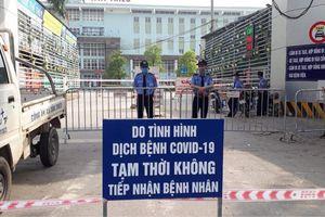 Người từng đến 2 bệnh viện lớn ở Hà Nội dương tính lần một với nCoV