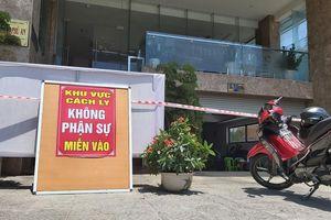 Nam nhân viên bán vé khu spa ở Đà Nẵng nhiễm nCoV