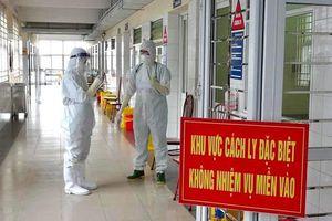 Sáng 7/5, Việt Nam ghi nhận 1 ca mắc Covid-19 trong cộng đồng tại Thanh Hóa, là F1 của chuyên gia Trung Quốc