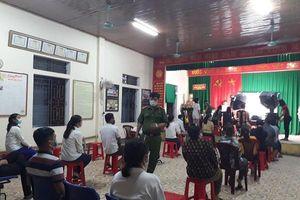 Nghệ An: Tăng cường kiểm soát phòng dịch tại điểm cấp căn cước công dân
